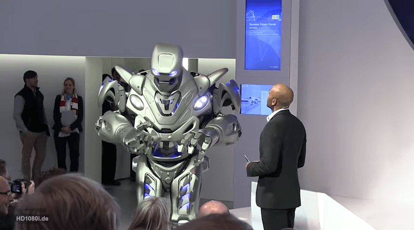 Still from Highlights of the HANNOVER MESSE 2014