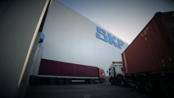 Still from A new day at SKF Logistics Services Italy