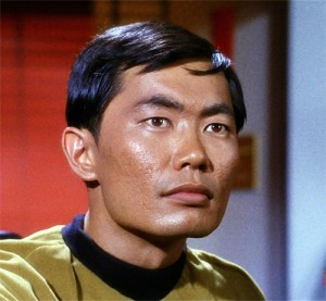Mr Sulu - Star Trek the original series