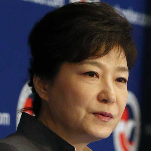 Photo of Park Geun-hye President of South Korea