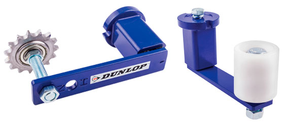 Photo of Dunlop tensioners and idlers
