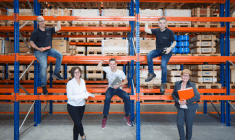Five new colleagues at ABF