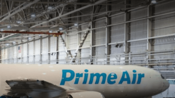 Amazon First Branded Cargo Jet