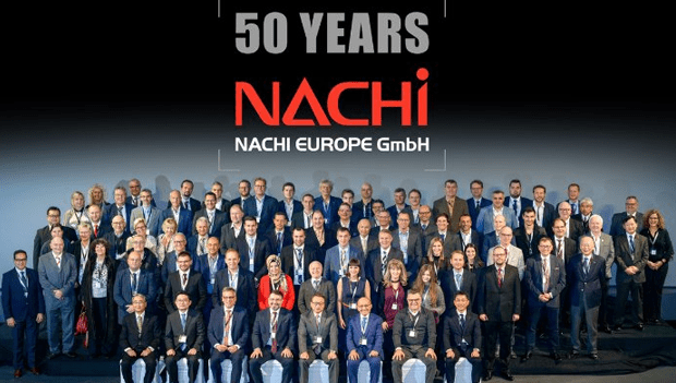 50 years of success in Europe – NACHI