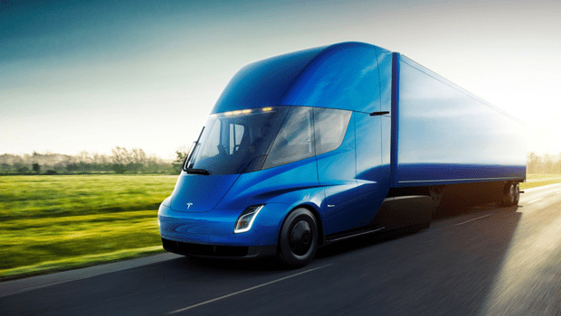 Tesla Truck Gets an Order from DHL