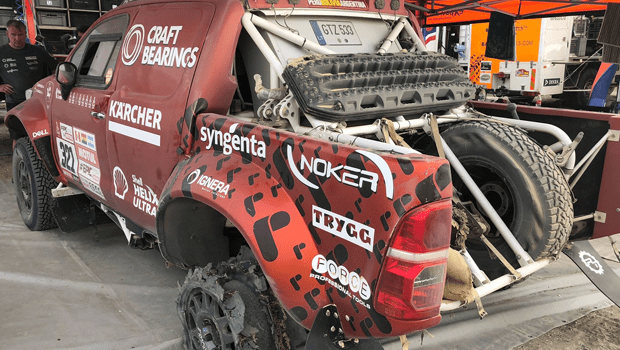 Craft Bearings – Dakar Rally Team Finishes Stage With Only Front Tires